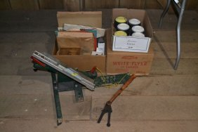 Large Lot Of Range Targets, Clay Targets, Hand Thrower,