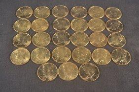 27 1964 Kennedy Half Dollars