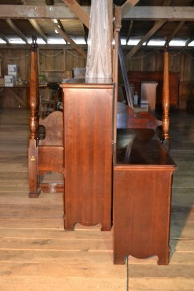 Thomasville Mahogany Finish Br Suite: Queen Size