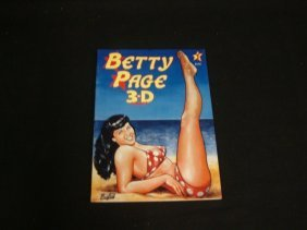 Bettie Page 3-D Comic #1