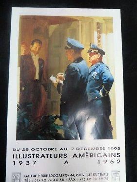 American Illustrators Exhibition Poster