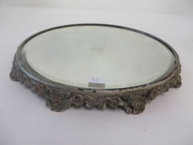 Victorian Silverplated Trumeau
