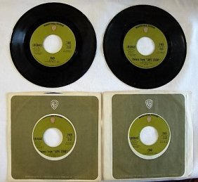 Four Liberace 45 Rpm Records