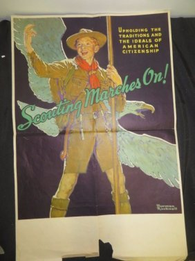 Rockwell Boy Scout Poster