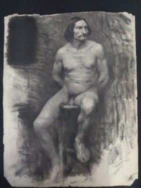 Ecole Des Beaux Arts: Male Nude Study