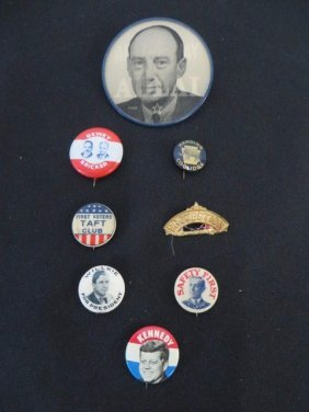 Political Buttons Inc. Stevenson Flashing (8)