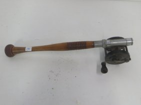 Vintage Fly Fishing Rod Base & Reel