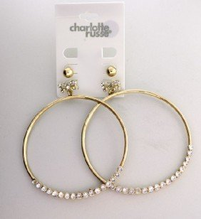 Charlotte Russe - 2 Pair Earrings