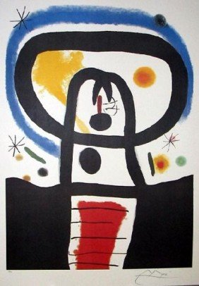 JOAN MIRO Equinox Print, Limited Edition