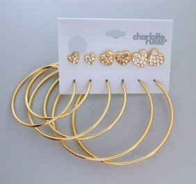 Charlotte Russe Jewelry - 6 Different Earrings Set