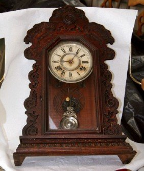 Antique American Ansonia Kitchen Clock- Sold As Is