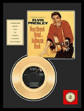 "ELVIS PRESLEY ""Jailhouse Rock"" Gold Record"