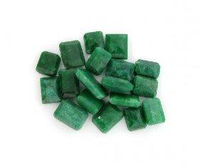APP: 13.8k 100.62CT Rectangular Cut Emerald Parcel