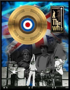 "THE WHO ""Discography"" Gold LP"