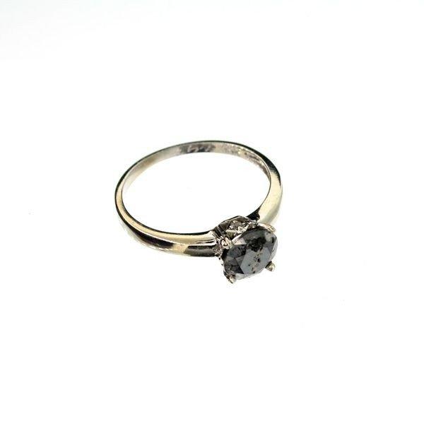 APP 2k 14kt White Gold 1k Diamond Ring Lot 337