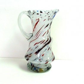 End Of Day- Clear Handle Pitcher