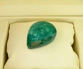 APP: 29.5k 196.95CT Pear Cut Emerald Gemstone