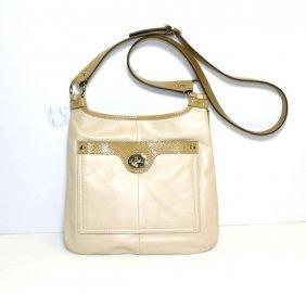 Coach- Original- S/V Bone & Toffee Handbag