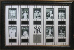 Yankee Legends - Engraved Signatures