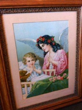 Antique High Quality Prints - Custom Wood Framed