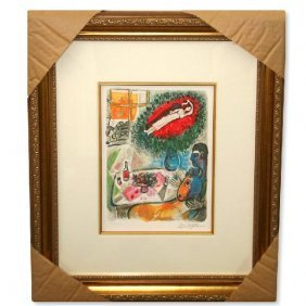 "Chagall ""Reverie"" Museum Framed Giclee-Limited Edition"