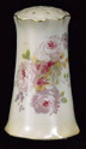 Beige Chantilly Rose Hatpin Holder - Porcelain (pc)