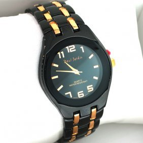 Paul jardin quartz black copper men 39 s watch lot 189 for Paul jardin quartz watch
