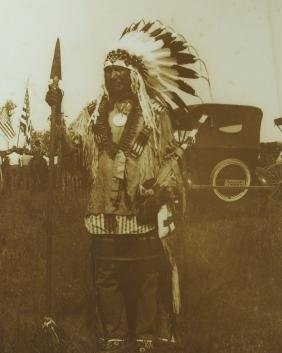"8x10"" Native American Photograph, 1920's"