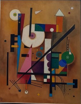 Wassily Kandinsky (ink And Watercolor On Paper)