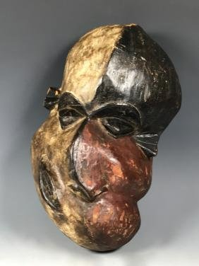 Pende Mask From Democratic Republic Of Congo