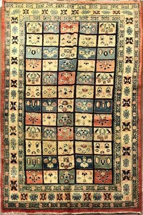 Antique Bakhtiyari Rug 4.1 X 9.9