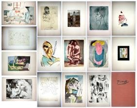 Pablo Picasso 15 Drawings, 1946 Albert Carmen, Pantheon
