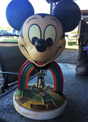 """Ron Lee Ceramic Mickey Mouse """"Ear Force One"""""""