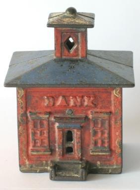 Cast Iron Cupola Building Bank