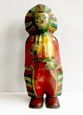 Indian Maiden Wind Up Toy