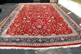 Lot Hand Woven Rug Auction