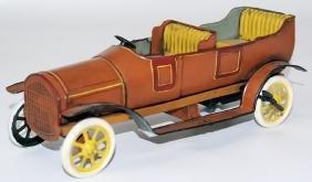 Vintage BING (GBN Bavaria) Tin Windup Open Touring Car