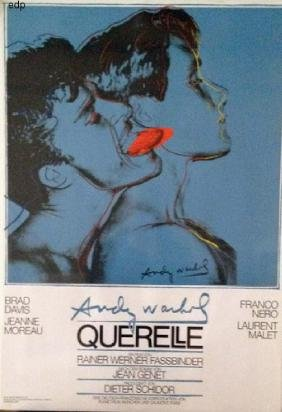 Andy Warhol: Querelle Film Poster