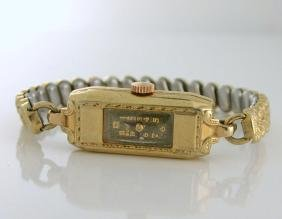 Art Deco Bulova 7 Jewels Women's Watch