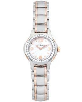 Carl F. Bucherer 18k Rose Gold & Steel Diamond Watch