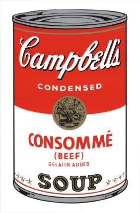 Andy Warhol - (after) Campbell's Consommé
