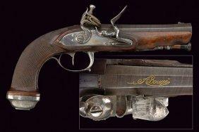 A Fine Officers Flintlock Pistol