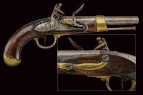 A Flintlock Pistol