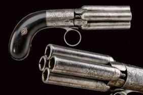 A Percussion Pepperbox Revolver