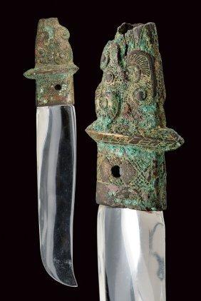 Part Of A Dagger Bronze Hilt