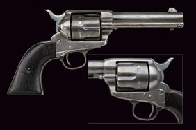 A Colt Model Single Action Revolver
