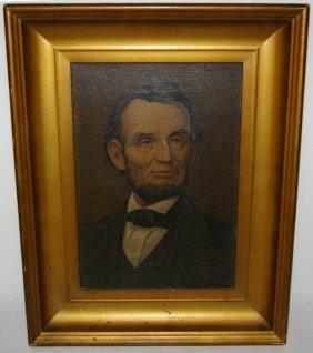 3045 Abraham Lincoln Illinois Watch Co Advertisement