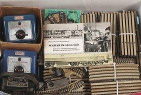 Konvolut M�RKLIN Metallgleise 50er Jahre