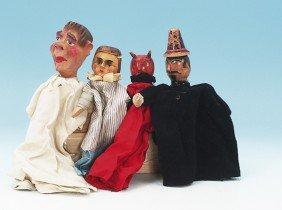 4 Kasperle Theater Figuren