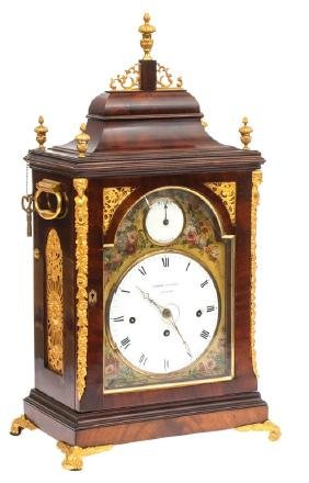 George Conyers Mantel Clock, George Conyers, London